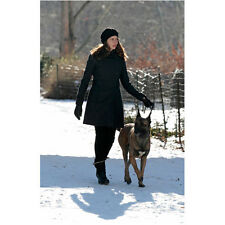 Person of Interest Amy Acker as Root Walking Dog in Snow 8 x 10 Inch Photo