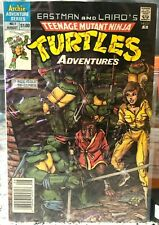 TEENAGE MUTANT NINJA TURTLES ADVENTURES #1 EASTMAN AND LAIRD'S 1988 ARCHIE TMNT