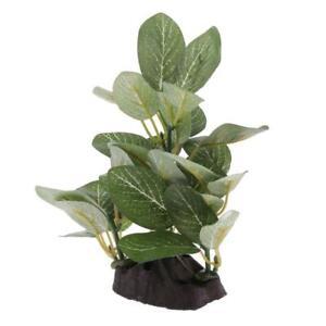 1xReptile Tank Decor Resin Reptile Lizard Gecko Artificial Tree Plant Type_2