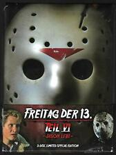 '84 Deluxe MEDIABOOK : Freitag der 13. - Jason lebt! (ltd 3-Disc Ed.) Teil 6