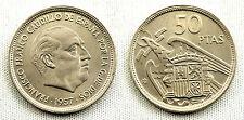 ESTADO ESPAÑOL 50 PESETAS 1957*58 UNC/S/C/FDC COLOR Y BRILLO ORIGINAL