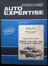 AUTO EXPERTISE n°83; Fiche S.R.A/ BMW 316-318-320/ R 18 tous types