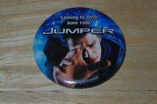 Jumper Hayden Christensen Samuel L. Jackson Button Pin Movie Coming to DVD Promo