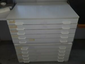 2 x A1 Plan Horizontal Cabinet, A1 drawings, Office plan drawers