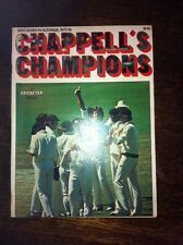 Chappell's Champions 1976 A Special Cricketer Magazine Near Mint Cond very rare