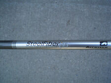 Aerotech Steelfiber I95 Regular Flex, 5 iron shafts, 6 to PW .355T - USED
