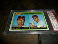 1965 OPC O-pee-chee #194 California Angels Rookie Stars NM MINT PSA 8 LOW POP 7