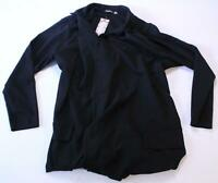 Boohoo Women's Plus Oversized Tie Blazer TM8 Black Size US:18 UK:22 NWT