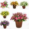 Kunstpflanze NEU Künstliche Kunstblumen Blüten Seidenblumen-Ziemlich