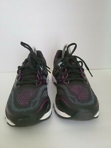 ASICS Women's GT-2000 7 Running Shoes, Black/Skylight, 8.5