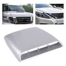 Gray 4x4 Car Auto Decorative Air Flow Intake Hood Scoop Vent Bonnet Cover Decal