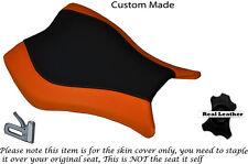 Naranja Y Negro Custom encaja Honda Cbr 1000 Rr 13-15 Fireblade delantera cubierta de asiento