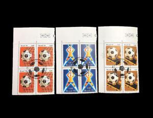 Football Soccer Brazil 1978 Mi 1643-45 Sn 1550-52 Yvert 1302-04 RHM 1030-32