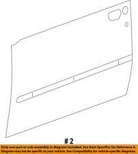Jeep CHRYSLER OEM 08-12 Liberty-Door Skin Outer Panel Right 55396994AA