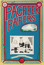 Pagfeek Papers (1973)  Underground Comic FINE Free Shipping!