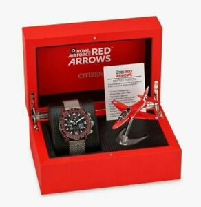 Citizen Men's Limited Edition Atomic Timekeeping Red Arrows Skyhawk JY8079-76E