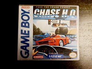 Nintendo Gameboy DMG Chase HQ Genuine Cart