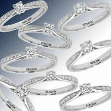 Anillos de joyería con diamantes I2