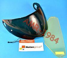 VISIERA ORIGINALE NOLAN N104 DARK GREEN + VISIERA PINLOCK NMS-03S da XXS a L