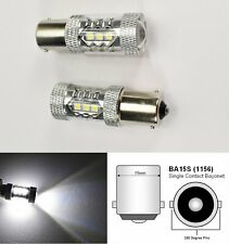 1156 2396 P21W 3497 7506 1141 BA15s 80W LED White Rear Signal B1 Euro U