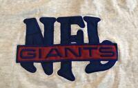 Vintage 90s 1990s New York Giants Nutmeg Mills NFL Football tee t-shirt Large