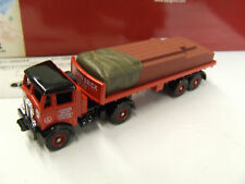 AEC MAMMOTH + FLATBED TRAILER + BRICK LOAD 1/87ème HO