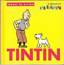 TINTIN  HERGE IMAGES EN ACTION N°2  LIVRE ENFANT