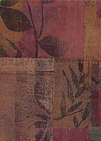 Wallpaper Designer Modern Abstract Color Block Leaves Leaf Gold Accents