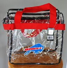 Buffalo Bills CLEAR Messenger Tote Bag Purse - Meets Stadium Security Reqs