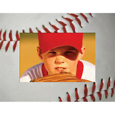 """Baseball Picture Frame - Paper - Holds a 4"""" x 6"""" Photo"""