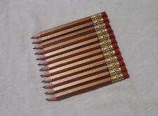 "100 ""Gold"" Golf Pencils w/Erasers"