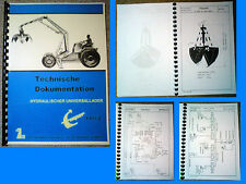 T 157 Technische Dokumentation T157 -2  T174 T 174 IFA W50 L60 Belarus RS09