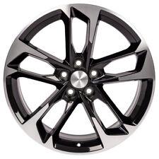 New 20x8.5 Black Machined 50th Anniversary Style Rim For 2010-2018 Chevy Camaro