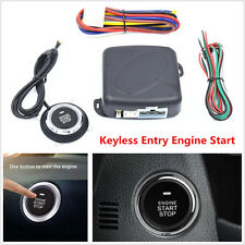 Universal Car START STOP Alarm Security System Keyless Entry Engine Start Button