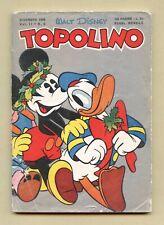 Topolino Libretto 9 originale con gioco e bollino Disney Mondadori 1949