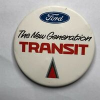 Vintage Ford Transit New Generation   Advertising Badge 5.5 cm's