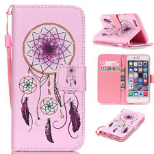 For iPod Touch 5/6 Fashion Stand Pattern PU Leather Case Card Wallet Flip Cover