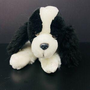 Animal Alley Spaniel Dog Plush Black White Cocker King Charles Stuffed Toys R Us