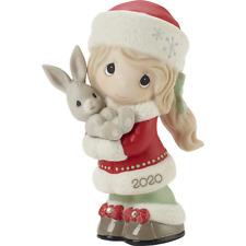 Precious Moments 201001 2020 Every Bunny Loves A Christmas Hug - Dated Figurine