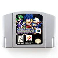 Goemon's Great Adventure (Nintendo 64, 1999) Authentic Cartridge Only Tested