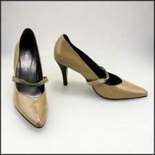 Patent Leather Pump, Classic Slim Heels for Women