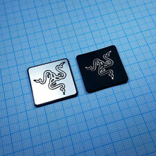 RAZER - Metallic Badge Sticker Set - 2 pieces