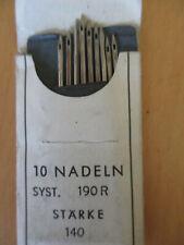Universal /& Dehnbar Kombi Pack 10 Organ Heim-Nähmaschine Nadeln Jeans