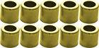 Brass Ferrule for Air & Water Hose #625 1/4' ID/.525 ID/.470 L/.360 P 10 Pack