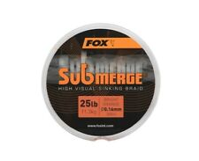 Fox Sub Bright Orange Sink Braid *300m Or 600m* NEW Carp Fishing Braid