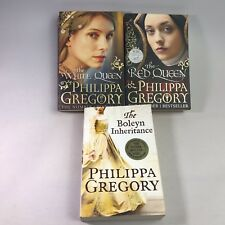 3 Philippa Gregory Books The Red Queen, The White Queen & The Boleyn Inheritance