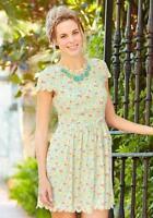 MATILDA JANE Women's Size 8 Medium Hello Lovely POPPY FIELD Dress NWT