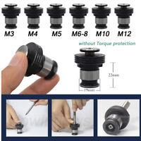 6pcs Drill Chuck Tapping Machine ISO Chuck M3/M4/M5/M6M8/M10/M12 fr Drilling Bit
