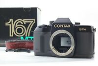 [unused] Contax 167MT 35mm SLR Film Camera Body Only From Japan 408