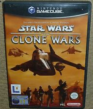 STAR WARS THE CLONE WARS for NINTENDO GAMECUBE & Wii Boxed Game Disc Instruction